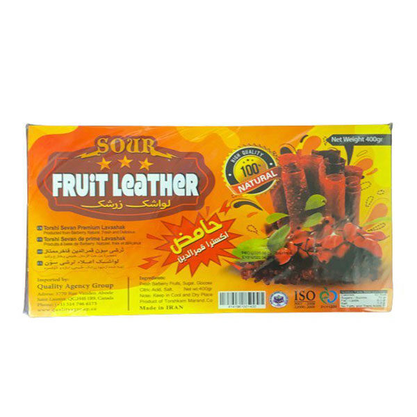 Fruit Leather - Barberry