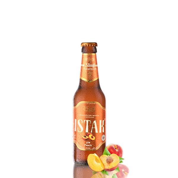 ISTAK Peach Non-Alcoholic Malt Drink