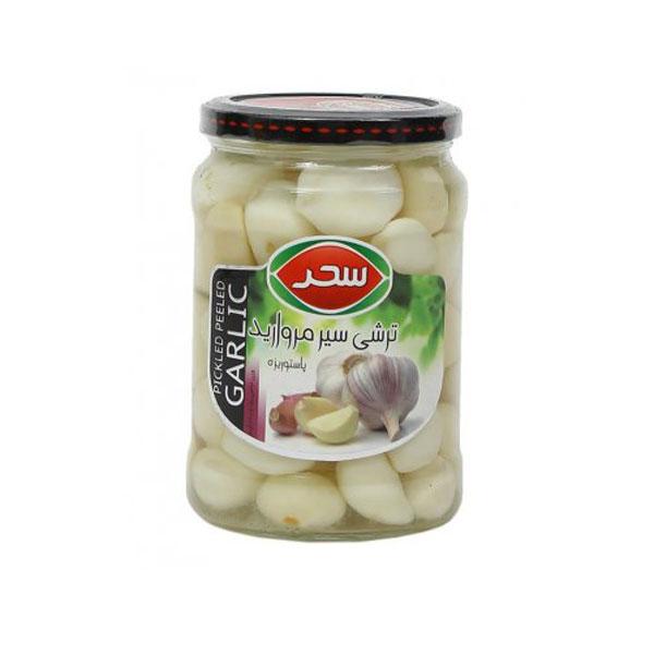 Sahar White Pickled Garlic