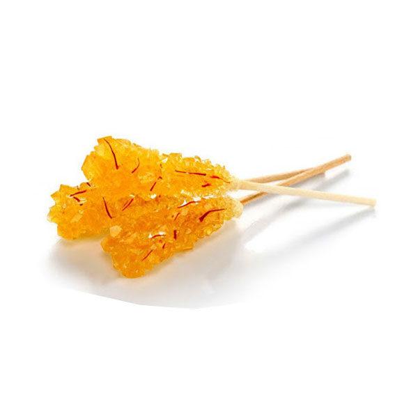 Saffron Rock Candy on Stick